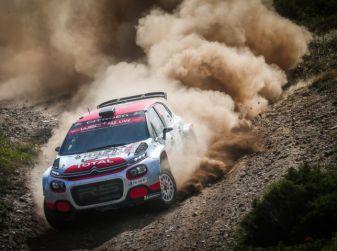 WRC2 Sardegna 2018: altamente competitiva la Citroën C3 R5