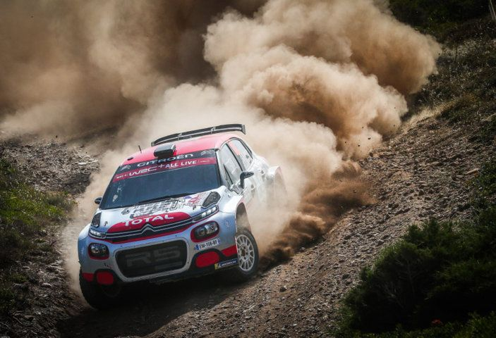 WRC2 Sardegna 2018: altamente competitiva la Citroën C3 R5 - Foto 1 di 1