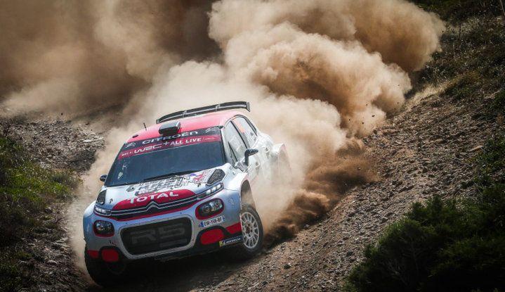 WRC2 Sardegna 2018: altamente competitiva la Citroën C3 R5 - Foto  di