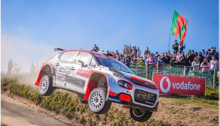 Citroën C3 R5 pronta ad affrontare la sfida in Sardegna - Foto  di