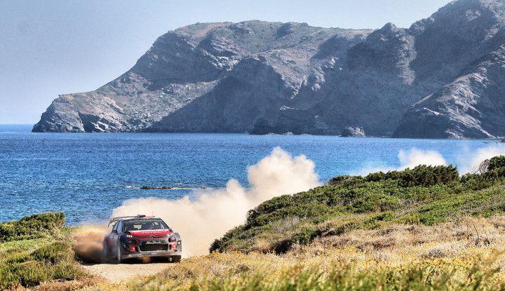 WRC Sardegna 2018: la presentazione della gara per Citroën - Foto  di