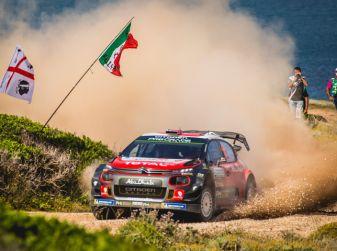 WRC Sardegna 2018 – Giorno 3: risultato di squadra per il team Citroën