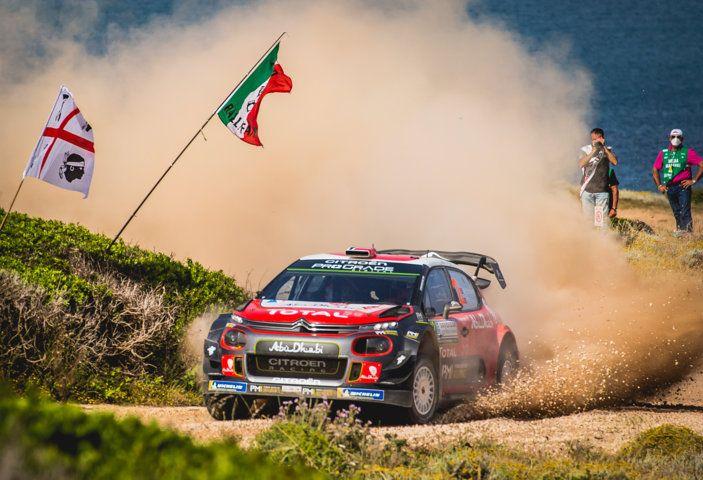 WRC Sardegna 2018 – Giorno 3: risultato di squadra per il team Citroën - Foto 1 di 1
