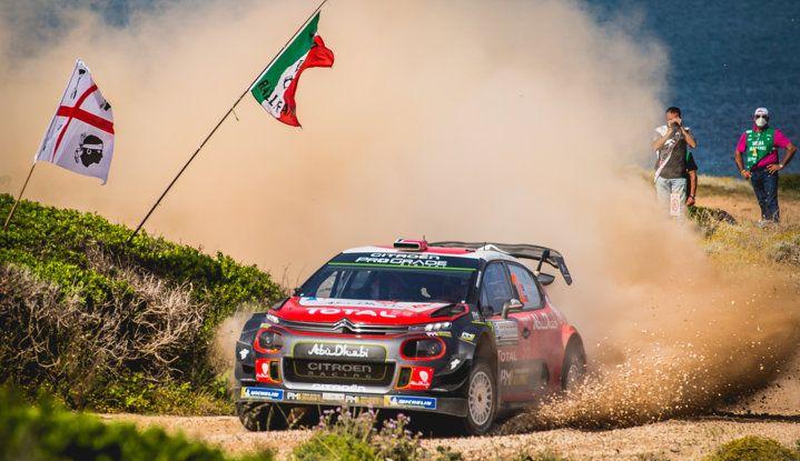 WRC Sardegna 2018 – Giorno 3: risultato di squadra per il team Citroën - Foto  di