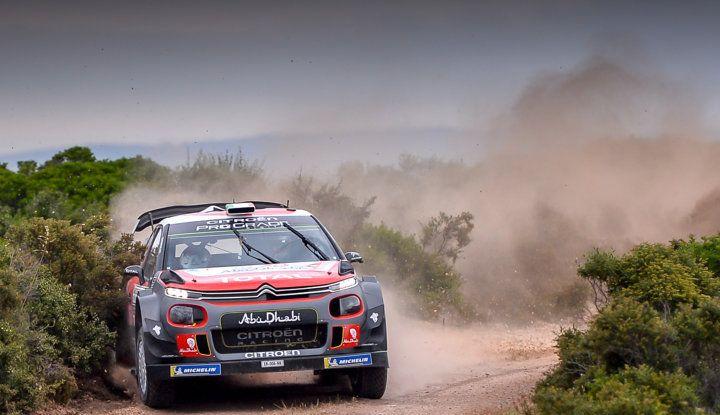 WRC Sardegna 2018 – shakedown: Citroën ottimizza il set-up delle C3 WRC - Foto 1 di 2
