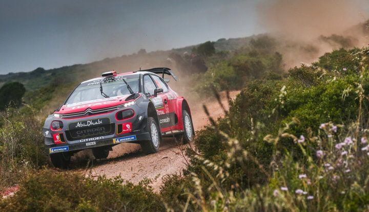 WRC Sardegna 2018 – shakedown: Citroën ottimizza il set-up delle C3 WRC - Foto 2 di 2