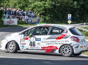 Peugeot Competition RALLY 208 – Leonardi trionfa, Guglielmini nuovo leader della serie