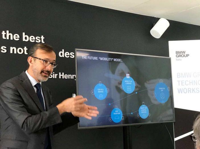 BMW Group, nel futuro mobilità elettrica, digitalizzazione, condivisione e guida autonoma - Foto 14 di 17