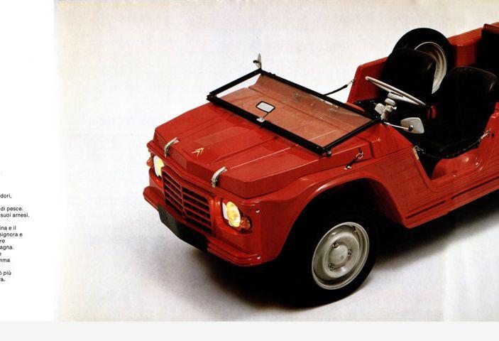 Citroën Méhari l'auto trasformista: da pick-up a berlina 4 posti. - Foto 1 di 1