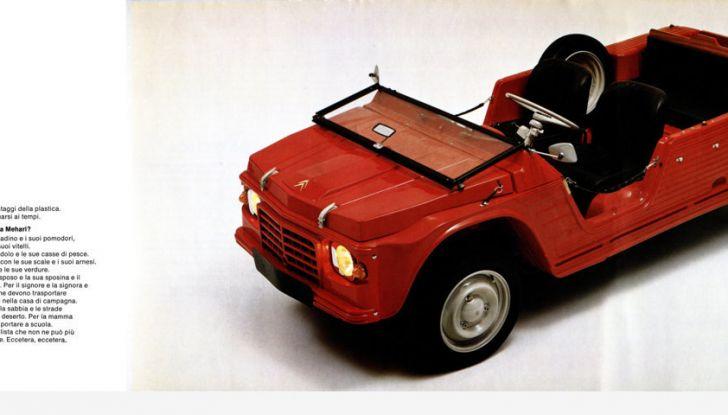 Citroën Méhari l'auto trasformista: da pick-up a berlina 4 posti. - Foto  di