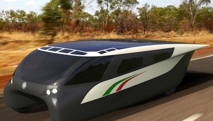 Svelata a Maranello Emilia 4, l'auto ad energia solare per le competizioni - Foto 1 di 3