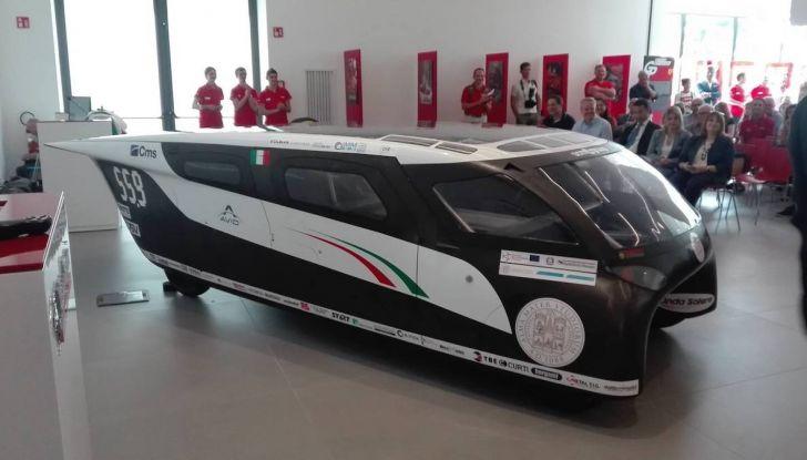 Svelata a Maranello Emilia 4, l'auto ad energia solare per le competizioni - Foto 3 di 3
