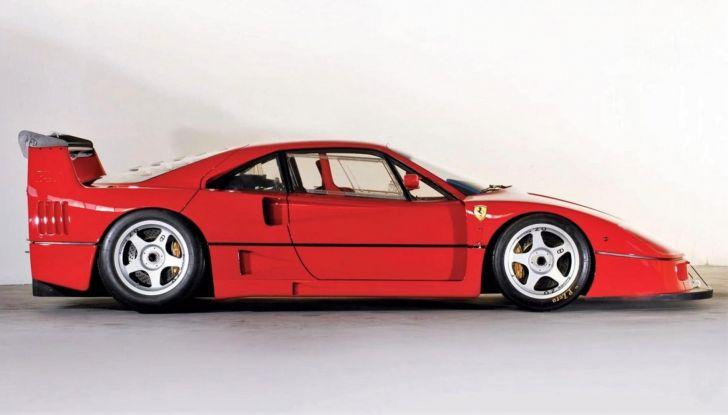 Ferrari F40 LM, esemplare record da 5 milioni di euro - Foto 2 di 6