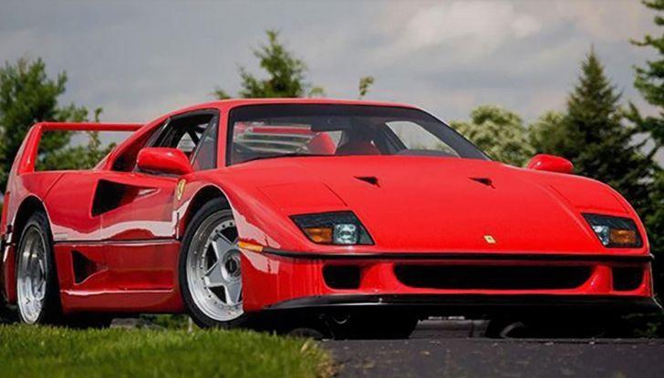 Ferrari F40 LM, esemplare record da 5 milioni di euro - Foto 5 di 6