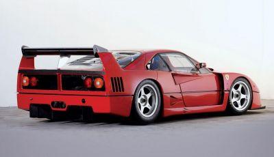 Ferrari F40 LM, esemplare record da 5 milioni di euro