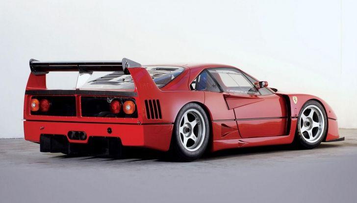 Ferrari F40 LM, esemplare record da 5 milioni di euro - Foto 1 di 6