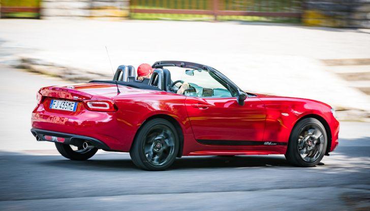 Test Drive Fiat 124 Spider 2018: un sogno en plein air - Foto 9 di 29