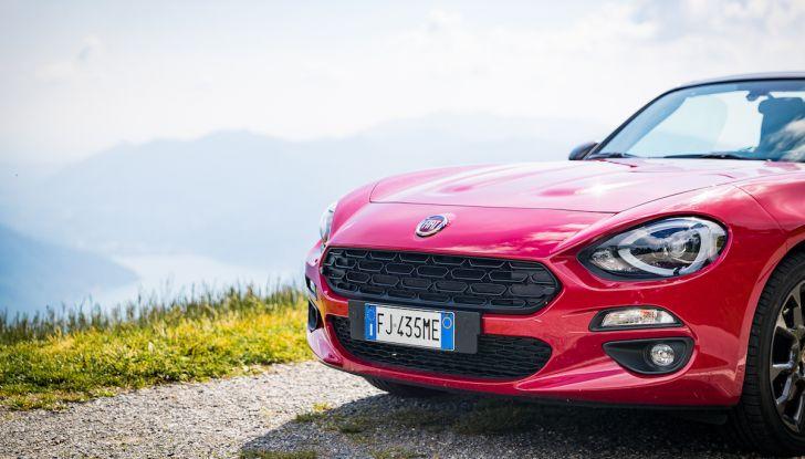 Test Drive Fiat 124 Spider 2018: un sogno en plein air - Foto 12 di 29