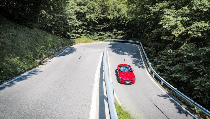 Test Drive Fiat 124 Spider 2018: un sogno en plein air - Foto 14 di 29