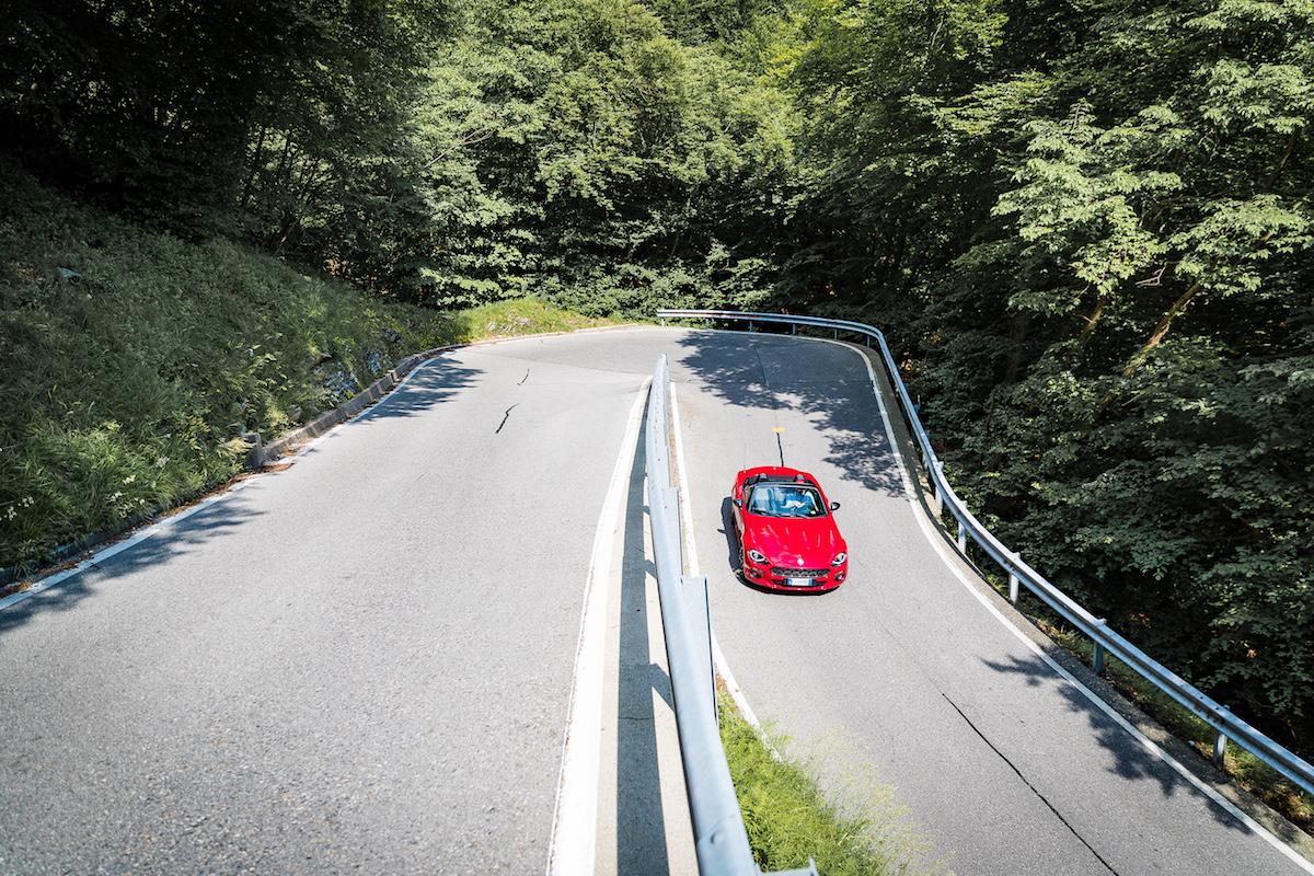 Fiat 124 Spider Trazione Posteriore