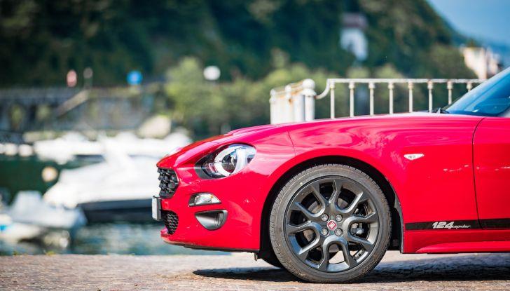Test Drive Fiat 124 Spider 2018: un sogno en plein air - Foto 13 di 29