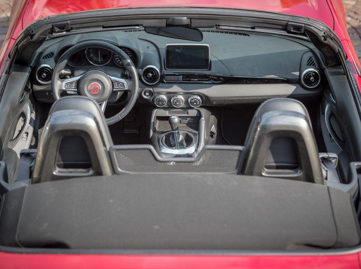 Test Drive Fiat 124 Spider 2018: un sogno en plein air - Foto 16 di 29