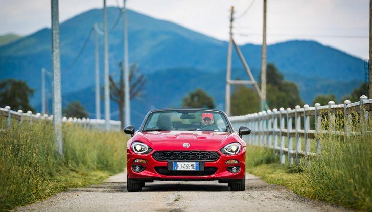 Test Drive Fiat 124 Spider 2018: un sogno en plein air - Foto 7 di 29