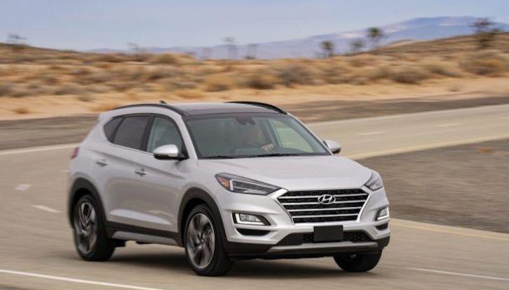 Hyundai Tucson 2018, il Restyling con il nuovo sistema Mild Hybrid - Foto 13 di 17