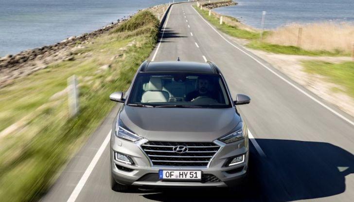 Hyundai Tucson 2018, il Restyling con il nuovo sistema Mild Hybrid - Foto 15 di 17