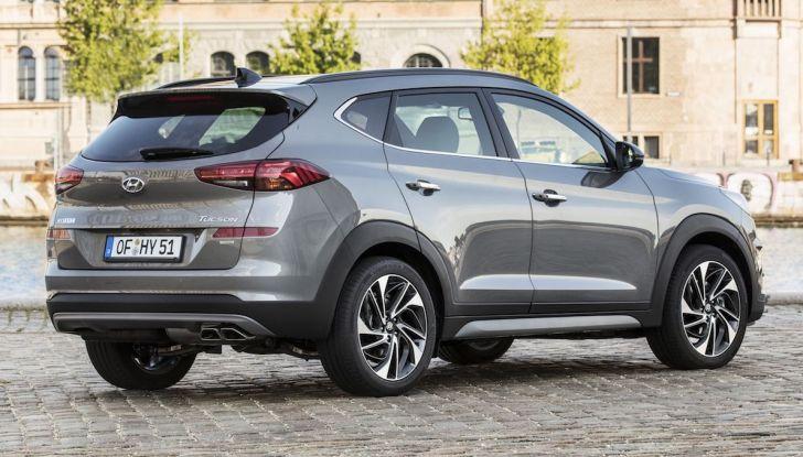 Hyundai Tucson 2018, il Restyling con il nuovo sistema Mild Hybrid - Foto 16 di 17