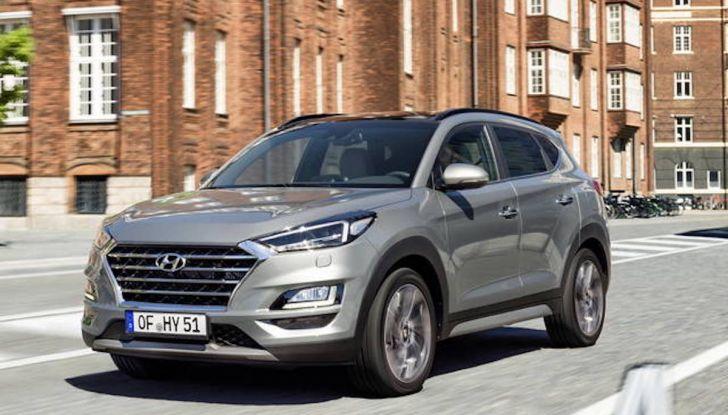 Hyundai Tucson 2018, il Restyling con il nuovo sistema Mild Hybrid - Foto 4 di 17