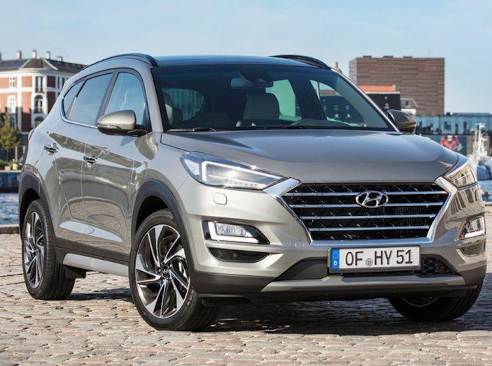 Hyundai Tucson 2018, il Restyling con il nuovo sistema Mild Hybrid - Foto 7 di 17