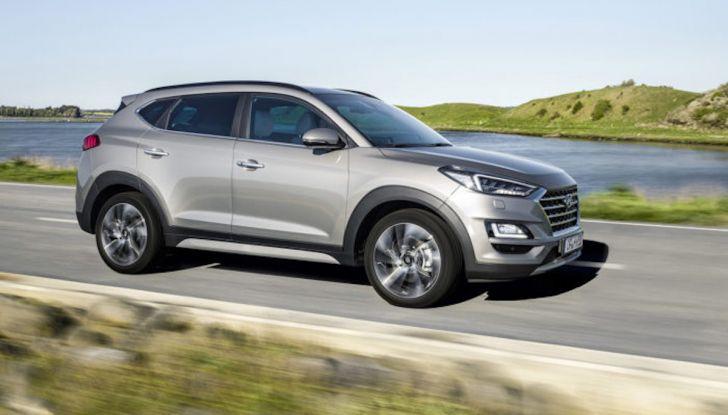 Hyundai Tucson Hybrid: il SUV diventa green - Foto 9 di 17