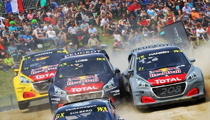 Curiosità dalla gara norvegese del WRX dove Peugeot lotta al vertice - Foto 2 di 2