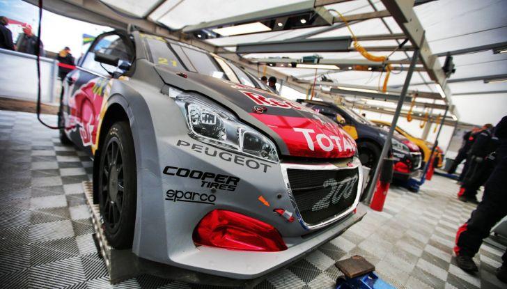 Quinta tappa del campionato FIA WRX – le Peugeot in rotta verso l'inferno di Hell - Foto 2 di 3