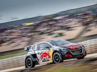 Curiosità dalla gara norvegese del WRX dove Peugeot lotta al vertice
