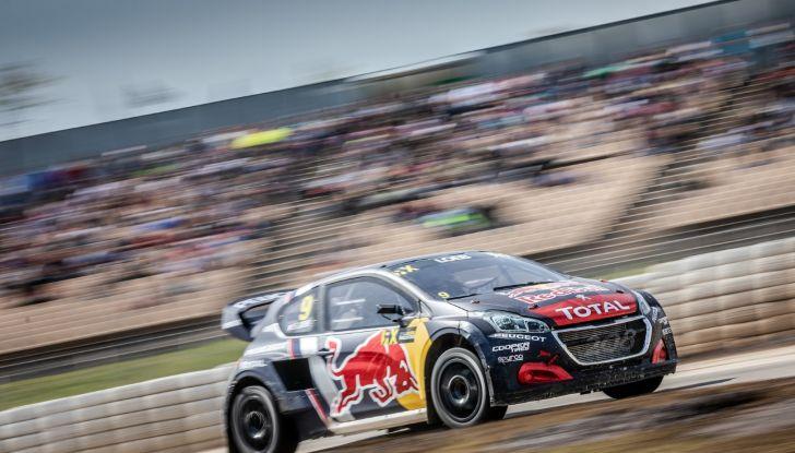 Curiosità dalla gara norvegese del WRX dove Peugeot lotta al vertice - Foto 1 di 2