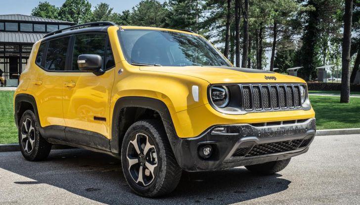 Prova completa Jeep Renegade 2019: Crossover dual su strada e in fuoristrada - Foto 1 di 24