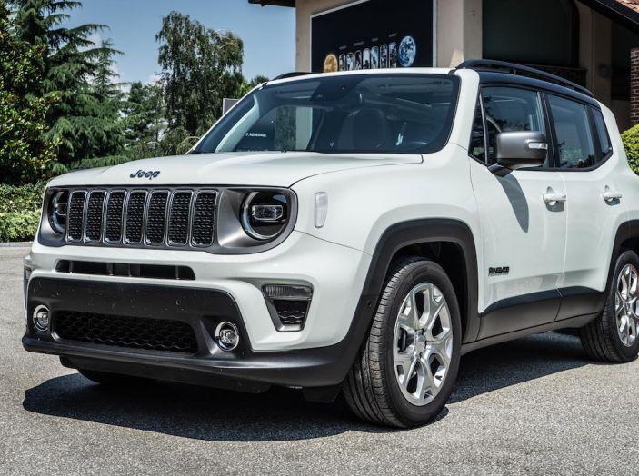prova completa jeep renegade 2019 crossover dual su strada e in fuoristrada infomotori. Black Bedroom Furniture Sets. Home Design Ideas