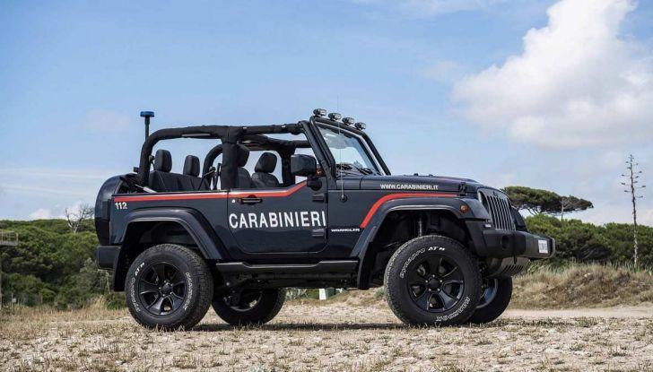 Jeep Wrangler dei Carabinieri con Mopar One Pack - Foto 3 di 9