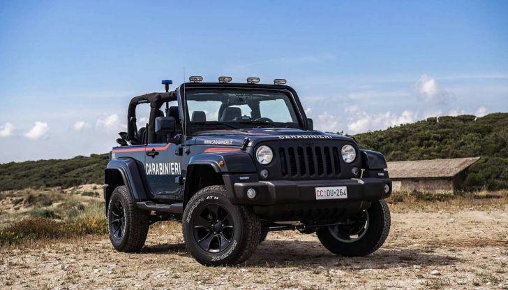 Jeep Wrangler dei Carabinieri con Mopar One Pack - Foto 4 di 9