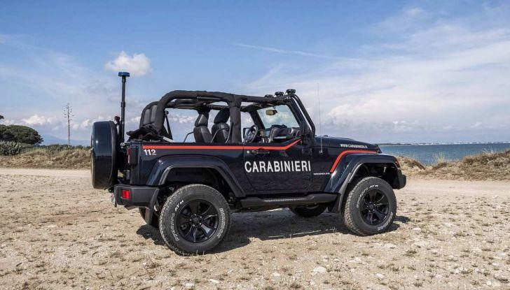 Jeep Wrangler dei Carabinieri con Mopar One Pack - Foto 5 di 9