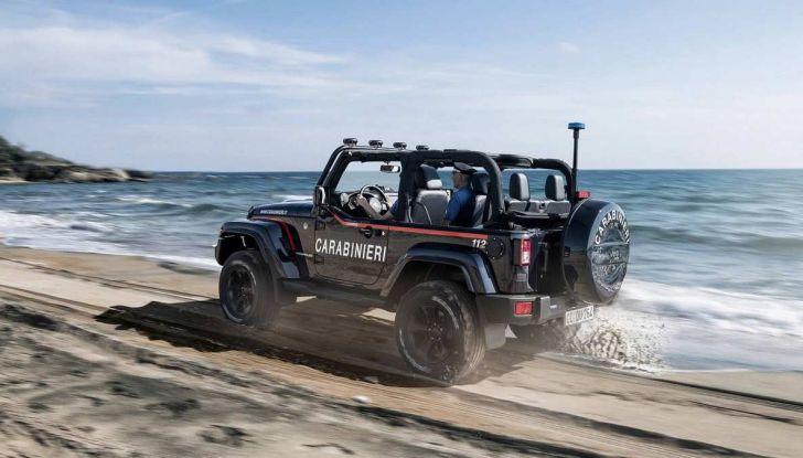Jeep Wrangler dei Carabinieri con Mopar One Pack - Foto 1 di 9