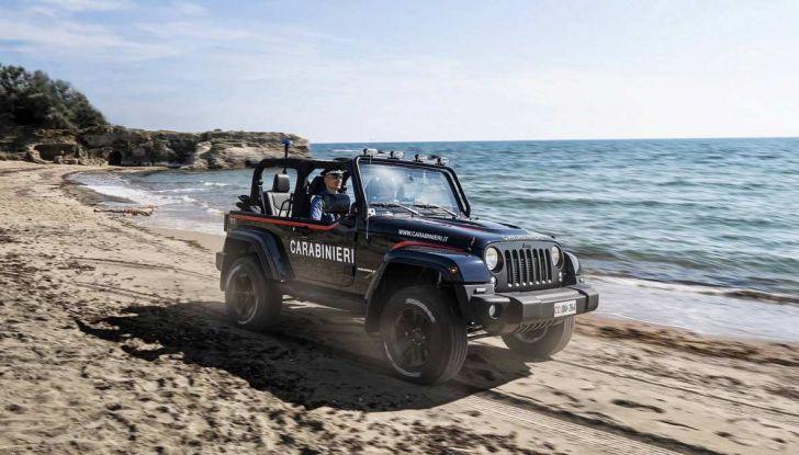 Jeep Wrangler dei Carabinieri con Mopar One Pack - Foto 6 di 9
