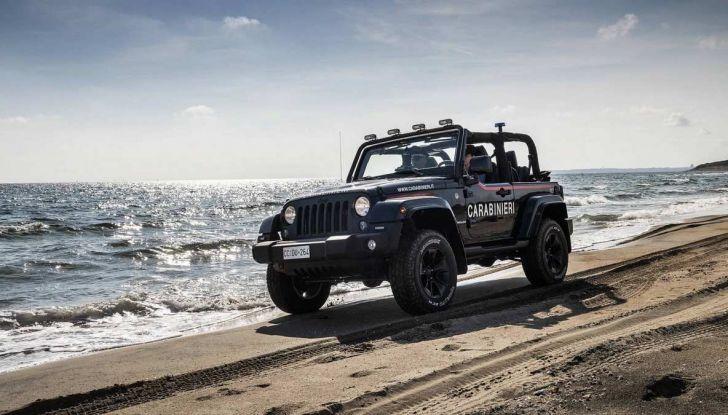 Jeep Wrangler dei Carabinieri con Mopar One Pack - Foto 7 di 9