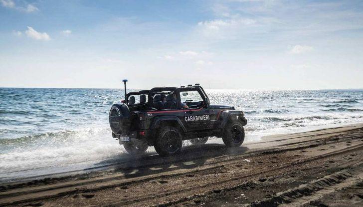 Jeep Wrangler dei Carabinieri con Mopar One Pack - Foto 8 di 9