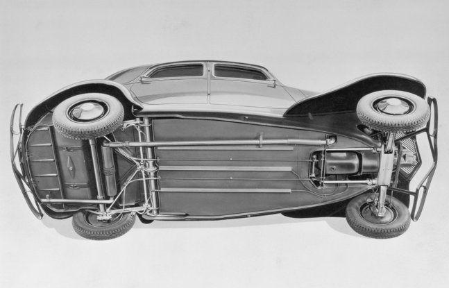 """Le innovazioni di André Gustave Citroën: dal """"Moteur Flottant"""" alla """"monoscocca"""" - Foto 4 di 7"""