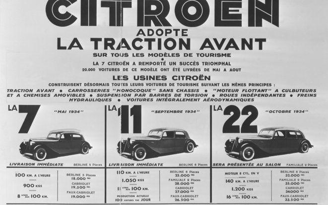 1934: André Citroën lancia la produzione in serie della Traction Avant - Foto 6 di 12