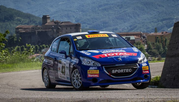 Peugeot Competition RALLY 208 – Leonardi trionfa, Guglielmini nuovo leader della serie - Foto 4 di 9