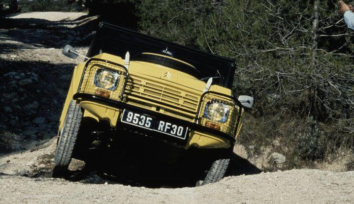 Méhari 4×4: la trazione integrale secondo Citroën - Foto 1 di 7